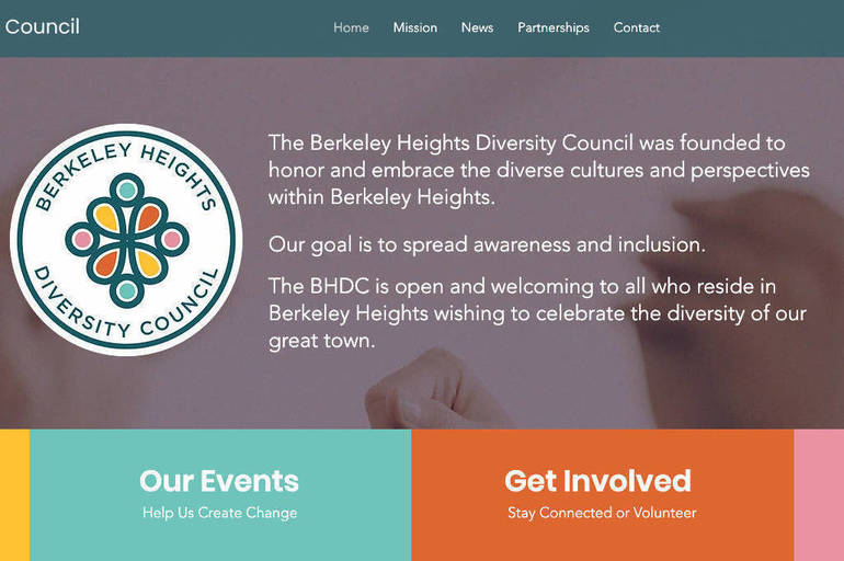 Berkeley Heights Diversity Council Launches New Website: Furthers Goal to Help Make Berkeley Heights the Most Open and Welcoming Community in New Jersey