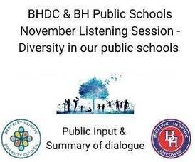 Berkeley Heights Diversity Council and Berkeley Heights School District Hosted First Listening Session in November.  Informative, Insightful, Inspiring.