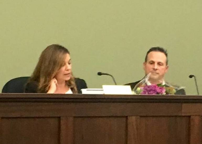Outgoing and Possible Incoming Bernards mayors