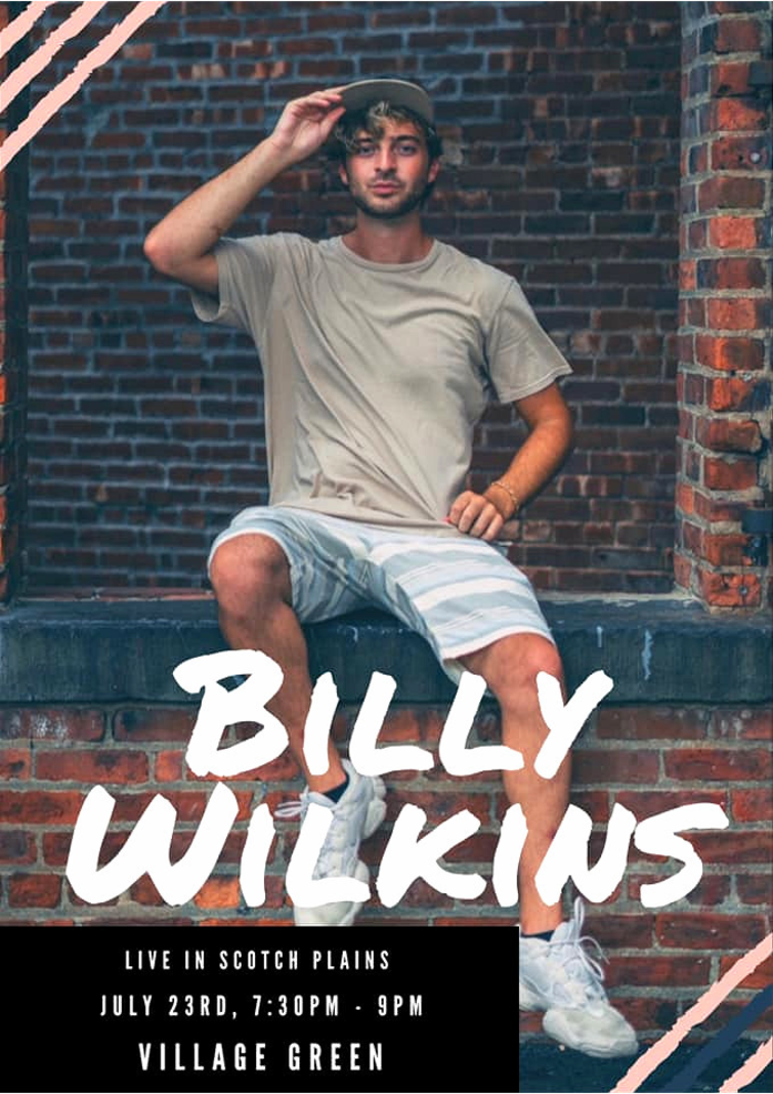 Billy WIlkins Scotch Plains show poster.png