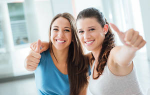Carousel image fe9a650381aef9ba7b23 bigstock confident girls thumbs up 116787935