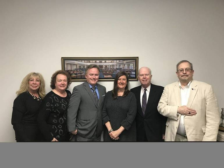 Meeting with Senator Diegnan
