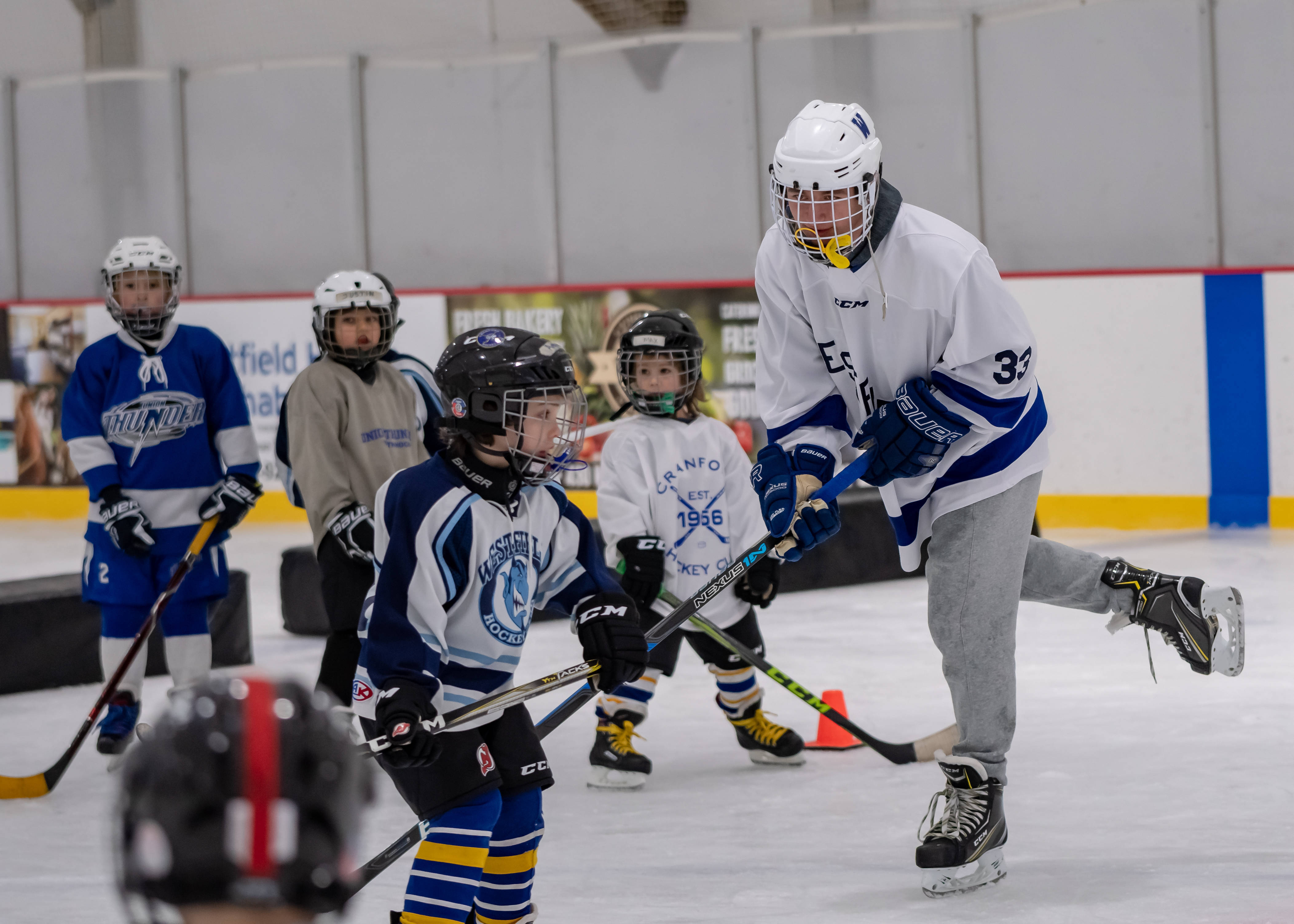 westfield boys hockey team lives for hockey with love for community