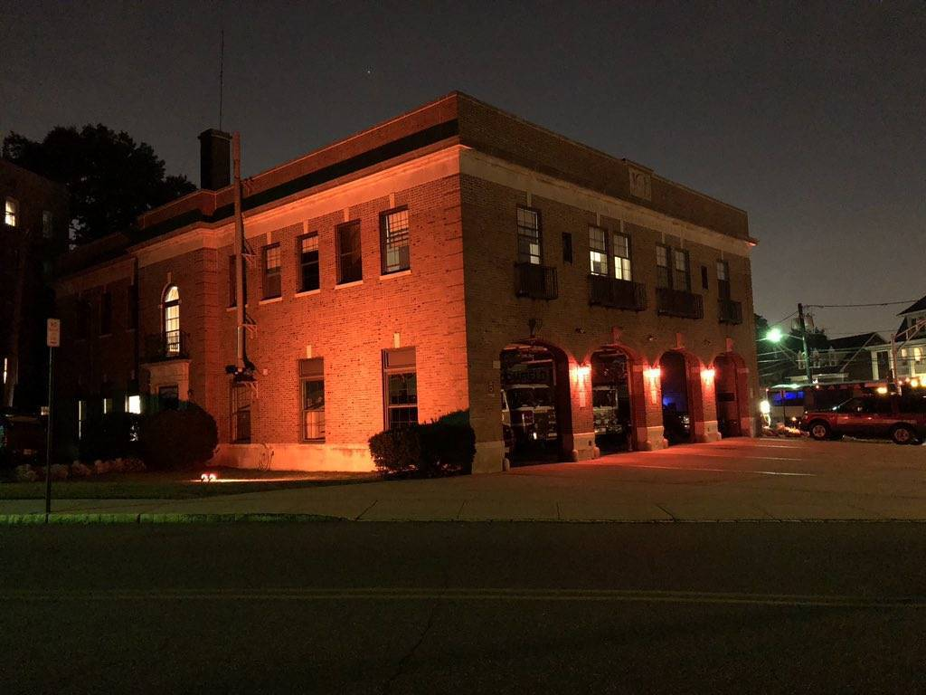 Bloomfield Fire Department Headquarters Illuminated Nightly to Honor ...