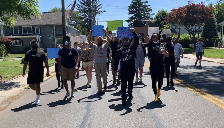 Black Lives Matter March Organized by South Plainfield High School Alumni Calls for Voices to be Heard