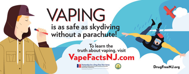 New Jersey Students to Receive Messages on the Dangers of Vaping