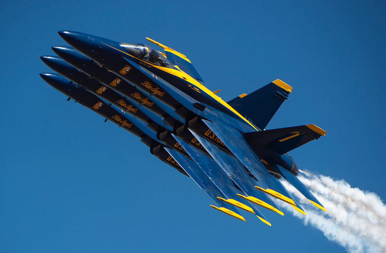 Thunderbirds, Blue Angels to flyover NJ, honoring frontline staff