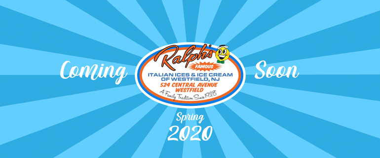 Blue.png Ralph's Famous Italian Ices and Ice Cream to open in Westfield, NJ Logo