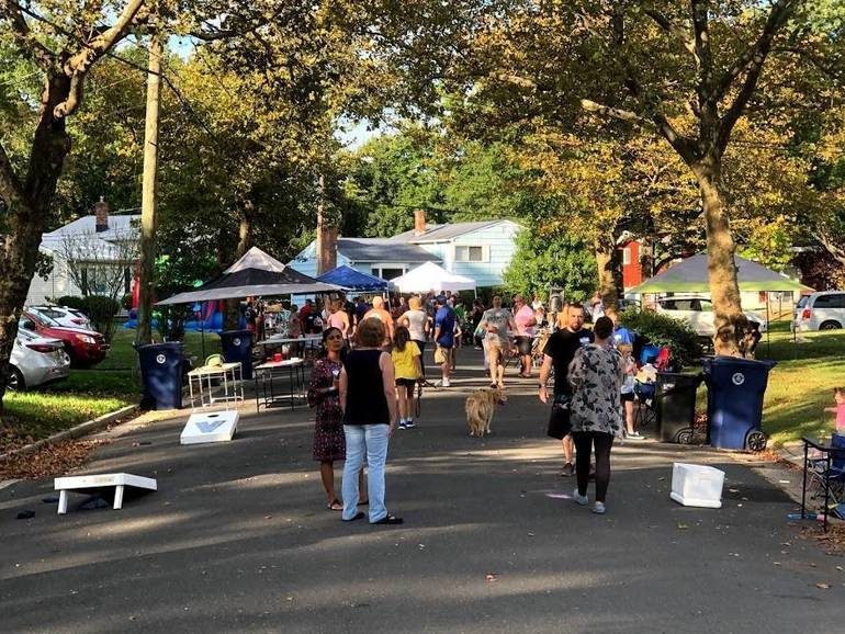 Scenes from the Glenwood Road Block Party in Fanwood