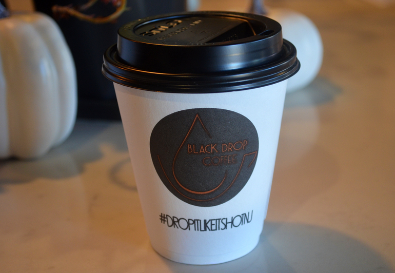 Black Drop Coffee is located on Park Ave. in Scotch Plains.