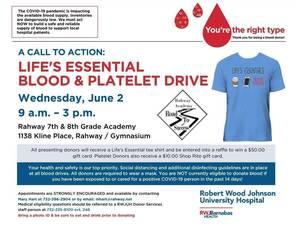 Rahway Blood Drive