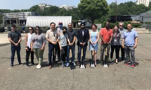 Hoboken Celebrates Planned Pop-Up Park in Newly Acquired Southwest Land