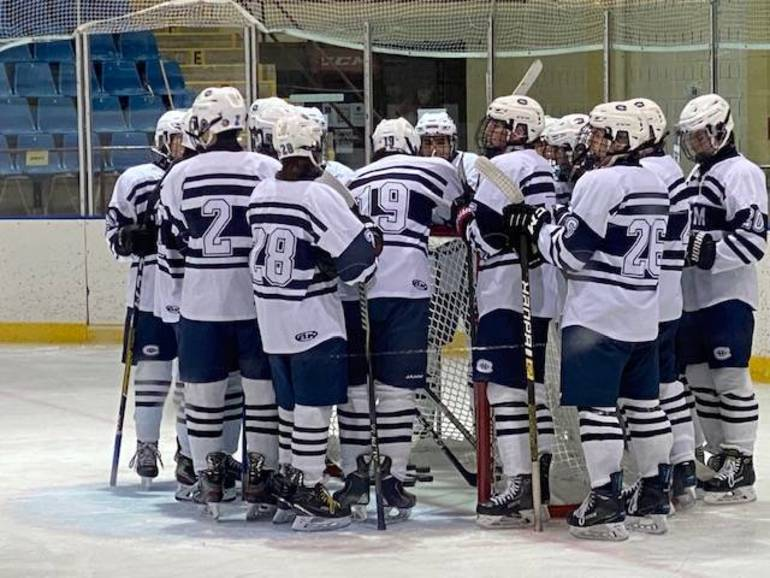 Chatham Goalie Park Stops 58 Shots for Cougars in Boys Ice Hockey Setback to Delbarton