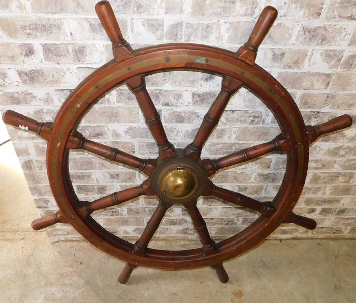 Nautical Items, Figurines, Sterling, Nut Crackers in Online Auction