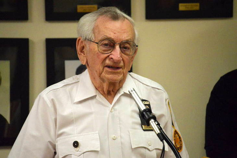 Fanwood's Bob Kruthers served on the local rescue squad for more than six decades.