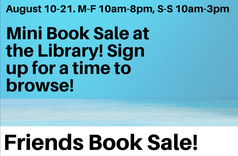 Friends Booksale