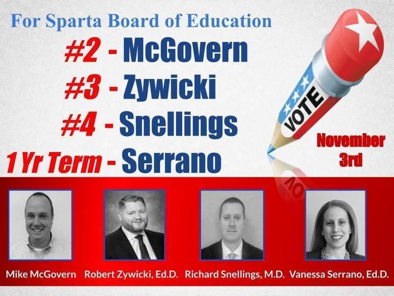 McGovern, Zywicki, Snelling and Serrano