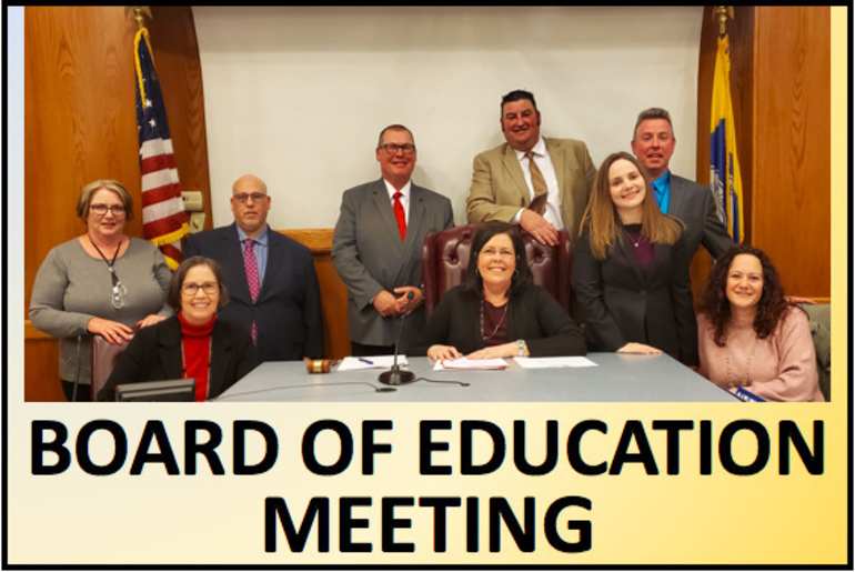 Jan 28 Board of Ed Meeting Announcement and Instructions