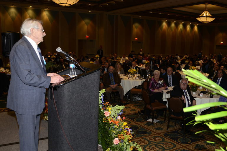 Fanwood's Bob Kruthers won a lifetime achievement award at the 2014 NJ Statewide EMS Conference in Atlantic City.