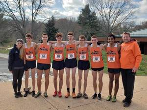 Carousel image 9b647747320d19f0428d boys xc at moc at holmdel sat nov 17 by tricia sonzogni
