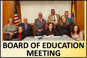 June 10 Board of Ed Meeting Announcment and Instructions