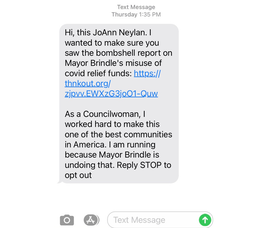JoAnn Neylan Campaign text