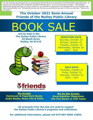 Friends of the Nutley Public Library Book Sale