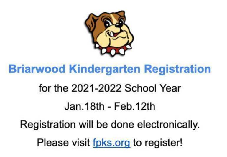 Briarwood Kindergarten Registration Going on Now for Florham Park Youngsters
