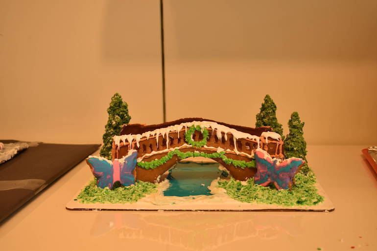 Who Won the Third Annual Westfield Gingerbread Building Contest?