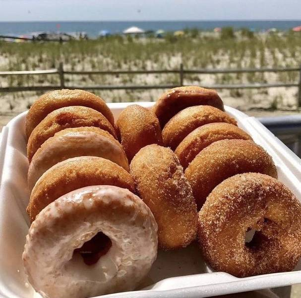 A plate of doughnuts from Brown's Restaurant in Ocean City, NJ