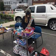Braden Somers, Nutley Family Service Bureau, NFSB, Food Pantry