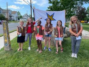 Girl Scouts of Cranford Honor Veterans with Special Video Project