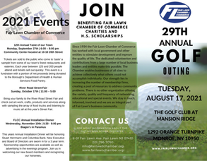 Join Members, Friends & Residents at Fair Lawn Chamber Golf Outing Set for August 17