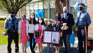 Brooklake Fifth Grader Wins NJ State Police Poster Contest