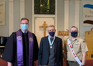 God and Service Award observance at the Presbyterian Church of Morris Plains
