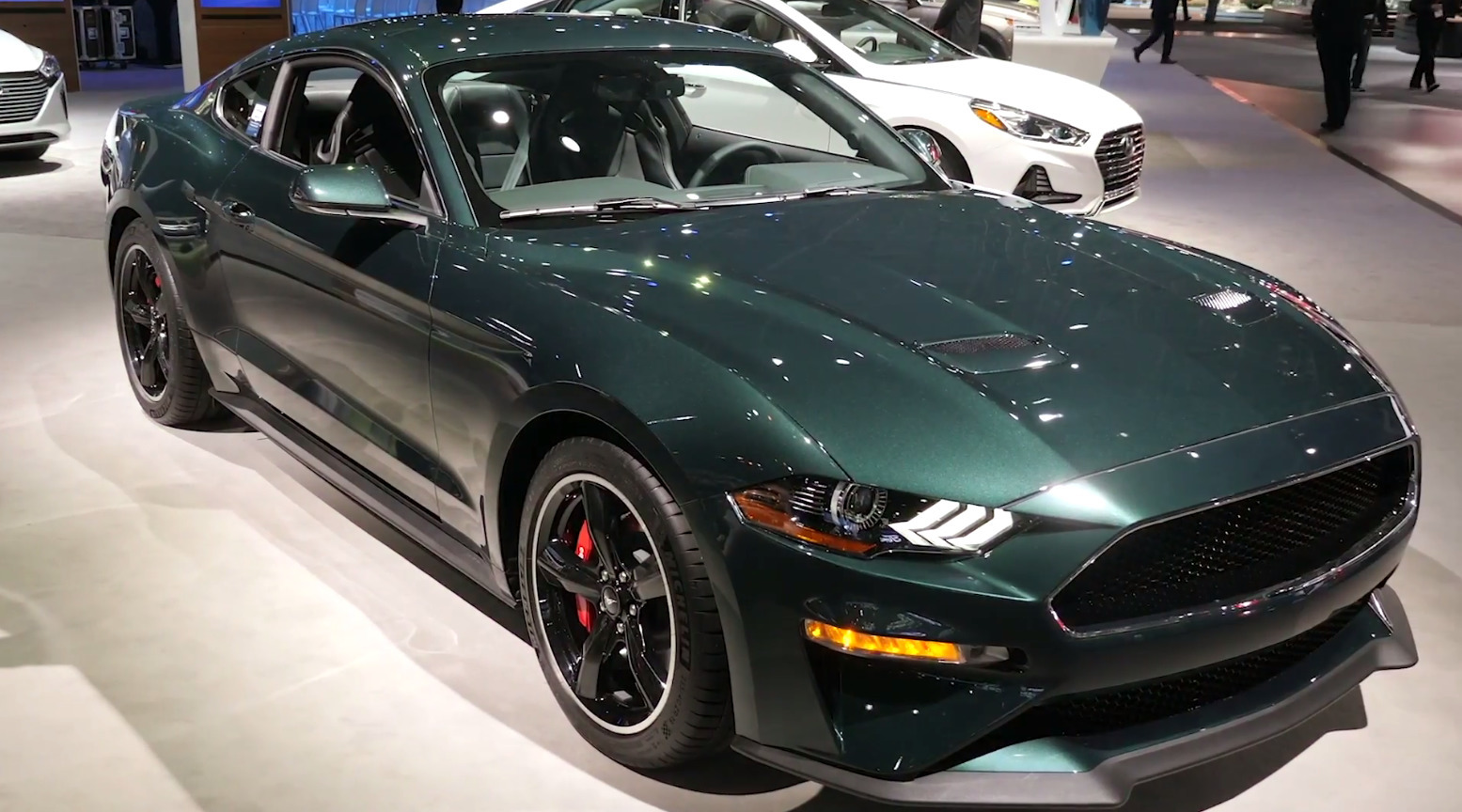 2019 Ford Mustang Bullitt Edition at the New York Auto Show
