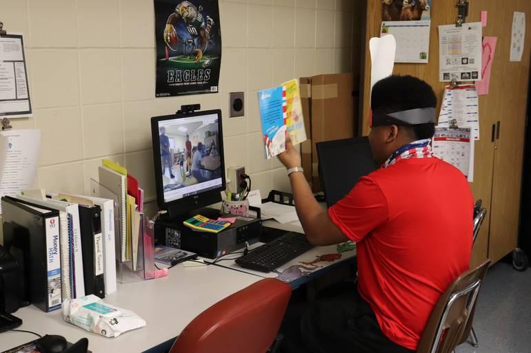BurlCo Special Services School District Joins Read Across America Celebration