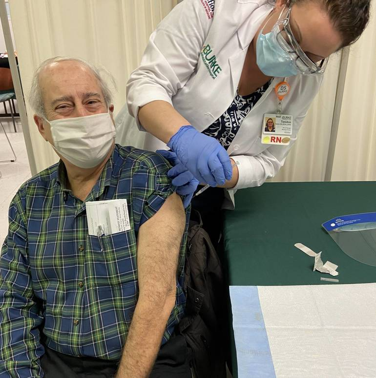 Burke Rehabilitation Hospital Provides COVID-19 Vaccines