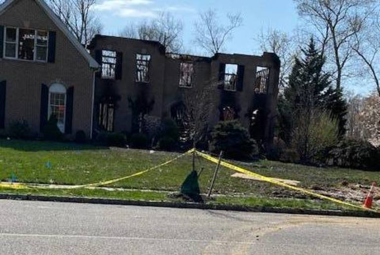 Robbinsville Rallies for Family Who Lost Home in Devastating Fire