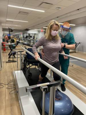 Burke Rehabilitation Hospital Launches Neurorehabilitation Gym