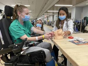 Burke Rehabilitation Hospital Receives $200,000 Grant from Craig H. Neilsen Foundation for Patients with Spinal Cord Injuries