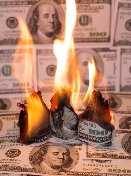 Top story 2d8d13644d07b4b94928 burning money bill