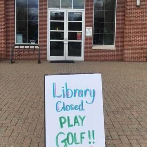 Bernardsville Public Library closes for golfing