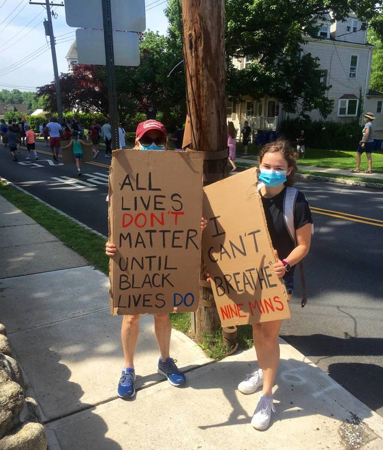 Homemade signs
