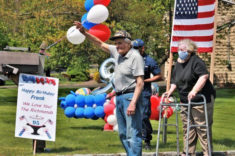Township, Emergency Personnel Celebrate World War II Veteran's Birthday