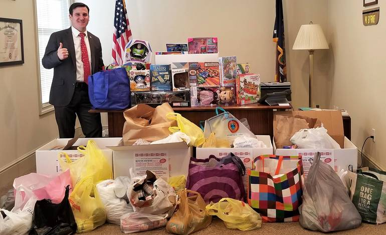 Byrne 2019 Holiday Food and Toy Drive.jpg