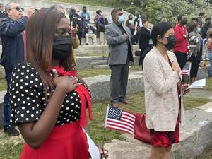 They're Coming to America. 25 New Citizens Sworn in at Great Falls Ceremony