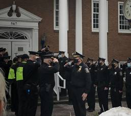 Kenilworth Police Honor Retired Chief with Final Walk Out After 33-Year Career