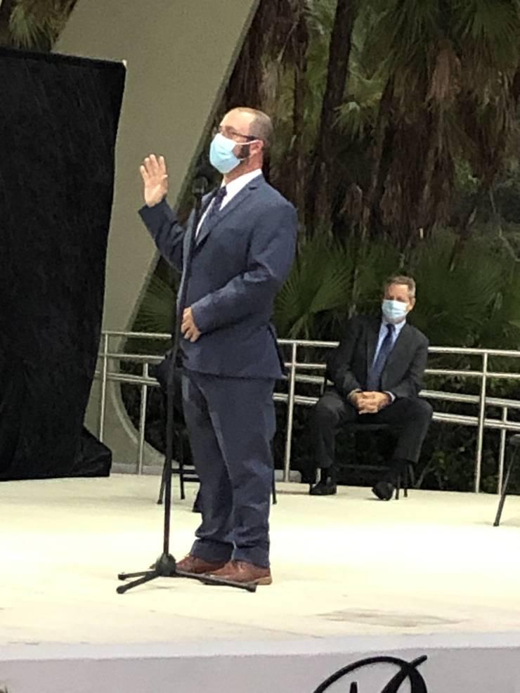 Parkland Mayor, City Commissioners Sworn in Wednesday Evening