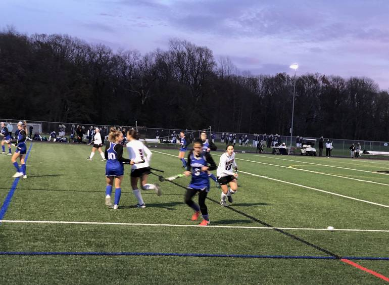Scotch Plains-Fanwood field hockey advances to the state finals for the first time ever by defeating Monroe